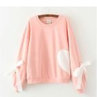 Heart Applique Pullover 1596