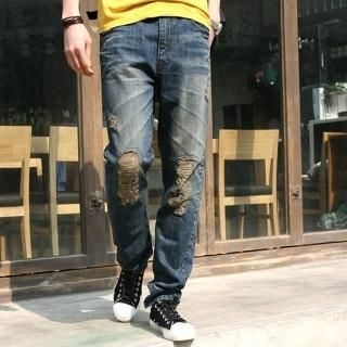 Buy Groove9 Distressed Jeans 1022531422