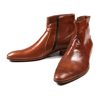 Picture of Purplow Handmade Cowboy Boots 1005016996 (Boots, Purplow Shoes, Korea Shoes, Mens Shoes, Mens Boots)
