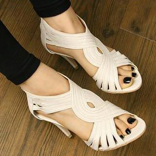 Buy SHY SHY Ankle Strap Sandals 1021064017