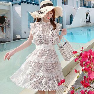 Sleeveless | Dress | Lace