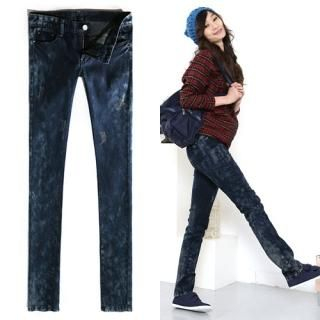 Picture of Bluemint Washed Skinny Jeans 1021851256 (Womens Skinny Pants, Bluemint Pants, South Korea Pants)