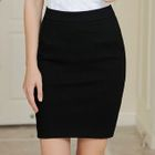 Plain Fitted Skirt 1596