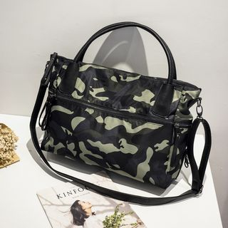 Camouflage Printed Tote 1064972897