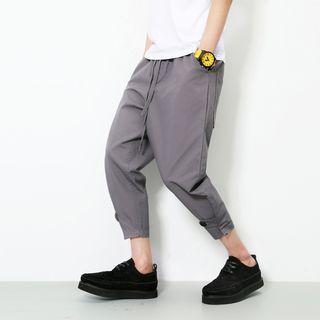Plain Capri Pants