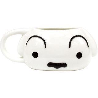 Crayon Shin-Chan Die Cut Mug Cup (Shiro) 1063575005