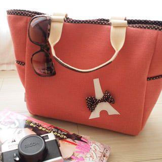 Buy hair.mo Tour Eiffel Appliqu  Shoulder Bag Russet Red – One Size 1022954416
