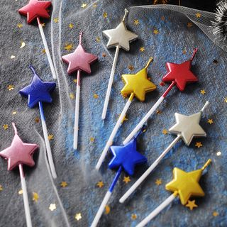 Birthday | Metallic | Candle | Party | Star