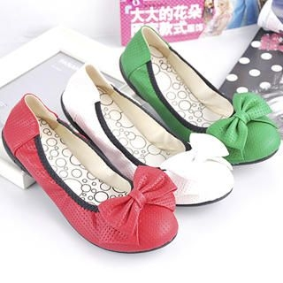 "Buy KAWO Perforated ""Bow"" Flats 1023005581"