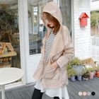 Drawstring Hooded Jacket 1596