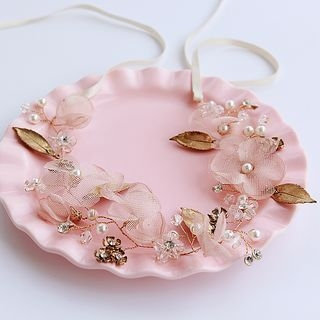 Flower Headpiece / Set of 2: Hair Clip 1058366560