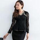 Long-Sleeve Lace T-Shirt 1596