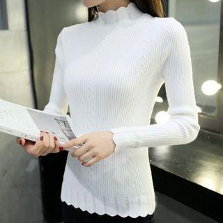 Ribbed Knit Top 1058479387
