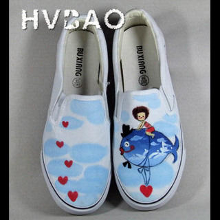 Picture of HVBAO Sea World Slip-Ons 1019928032 (Slip-On Shoes, HVBAO Shoes, Taiwan Shoes, Womens Shoes, Womens Slip-On Shoes)