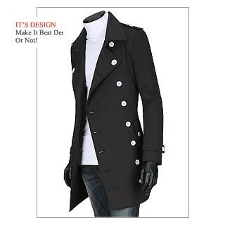 Buy Luis Double Breasted Coat 1021572776