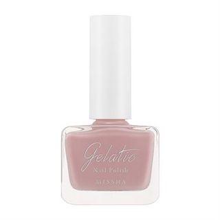 Missha - Gelatic Nail Polish (#PK01 Rose