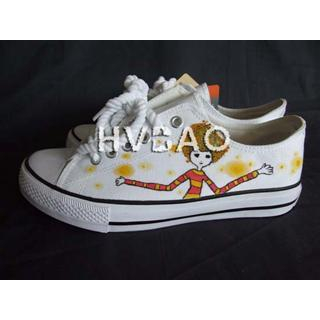 Buy HVBAO Afro-Haired Girl Sneakers 1011413682