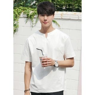 Short-Sleeve V-Neck T-Shirt 1061001366