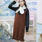 Knit Pinafore Dress 1596