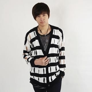 Buy De Karma Stripe Cardigan 1022187312