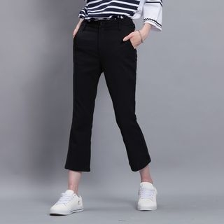 Boot-Cut Cropped Pants 1049491385