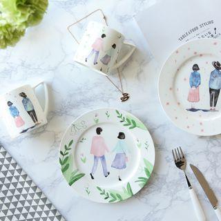 Printed Ceramic Plate / Cup 1058584052