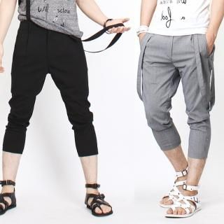 Buy Peeps Capri Pants with Suspender 1023028679