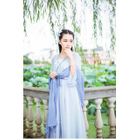 Frilled Chiffon Dress 1596
