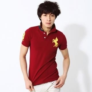Picture of moscod Embroidered Short-Sleeve Polo Shirt 1022809789 (moscod, Mens Tees, South Korea)