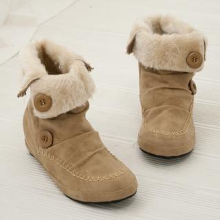 Picture of Cookie 7 Faux-Fur Lined Boots 1021598877 (Boots, Cookie 7 Shoes, Korea Shoes, Womens Shoes, Womens Boots)