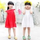 Kids Cap-Sleeve Dress 1596