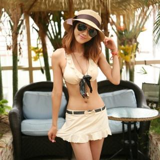 Buy Jean Stone Set: Bikini + Skirt 1022883602