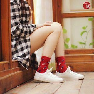 sock-print-terry-socks