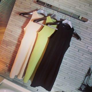Sleeveless Knit Dress 1058600865