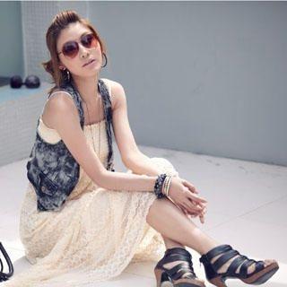 Buy PUFFY Lace Maxi Dress 1022732503
