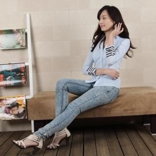 Picture of 782RUSH Washed Skinny Jeans 1023033513 (Womens Skinny Pants, 782RUSH Pants, South Korea Pants)