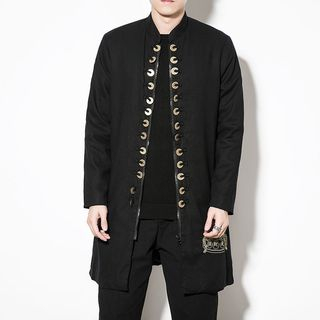 Image of Embroidered Zip Coat