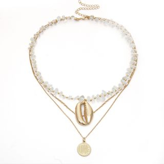 Necklace | Pendant | Shell | Stone | Coin | Gold | Size | One