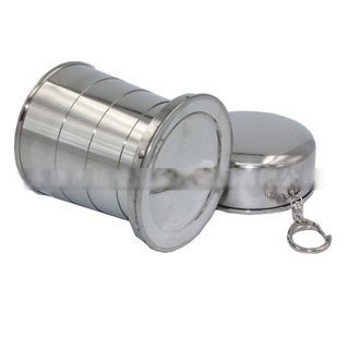 Travel Collapsible Stainless Steel Wine Cup 1053649816