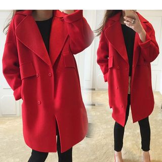 Notch Lapel Coat 1055243609