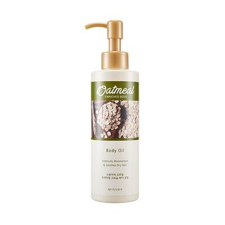 Oatmeal Enriched Body Oil
