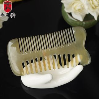 Image of Dual Side Horn Hair Comb