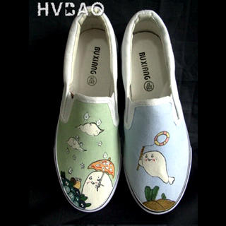 Picture of HVBAO Clouds Slip-Ons 1021156667 (Slip-On Shoes, HVBAO Shoes, Taiwan Shoes, Womens Shoes, Womens Slip-On Shoes)