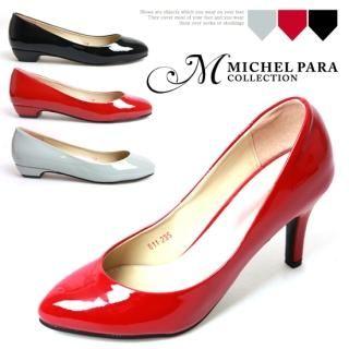 Buy MICHEL PARA COLLECTION Patent Pumps 1022290195