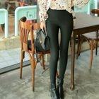 Plain Leggings Pants 1596