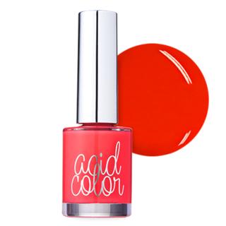 Polish | Orange | Color | Acid | Nail