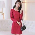 Plaid Mini Dress 1596