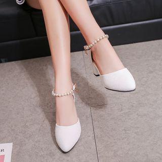 Short Heel Sandals Trophy Wife