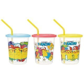 Pokemon Tumbler Set with Straw (3 Pieces) (the Movie 20: I Choose You!) 1060469402