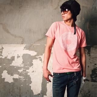 Picture of moscod Set: Print Short-Sleeve T-Shirt + Washed Straight-Cut Jeans 1022815412 (moscod, Mens Suits, Korea)